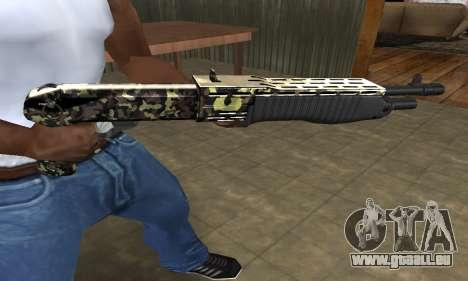 War Combat Shotgun pour GTA San Andreas troisième écran