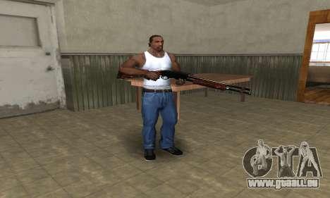 Very Big Shotgun pour GTA San Andreas troisième écran