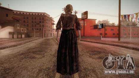 RE4 Isabel pour GTA San Andreas troisième écran