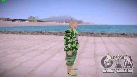 Huf Man pour GTA San Andreas deuxième écran