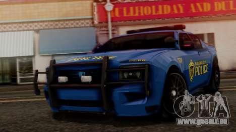 Hunter Citizen v2 IVF pour GTA San Andreas