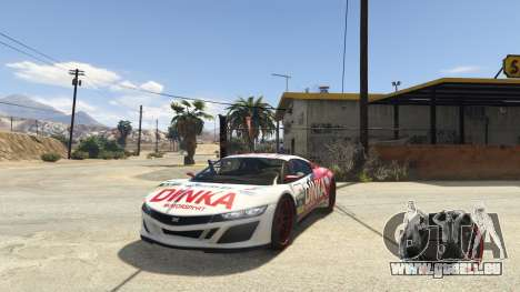 GTA 5 NFS gauge - RPM Gear Speedometer 1.0.1 zweite Screenshot