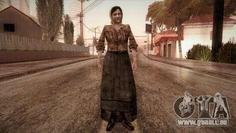 RE4 Isabel pour GTA San Andreas deuxième écran
