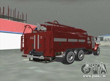 Oural 375 Pompier pour GTA San Andreas laissé vue