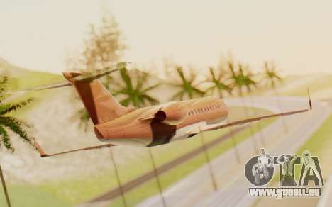Buckingham Starjet v1.0 pour GTA San Andreas laissé vue