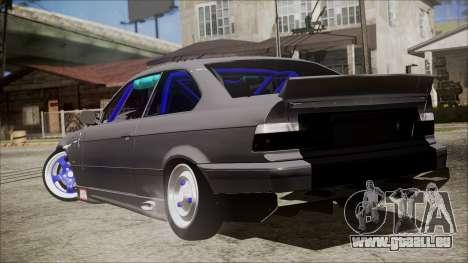 BMW M3 E36 Drift pour GTA San Andreas laissé vue