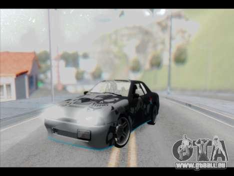 Elegy Lumus pour GTA San Andreas salon