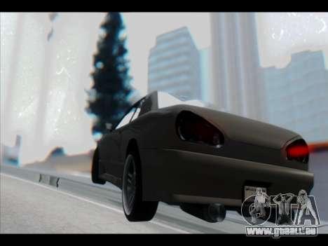 Elegy Lumus pour GTA San Andreas roue