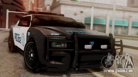 Hunter Citizen from Burnout Paradise v1 für GTA San Andreas