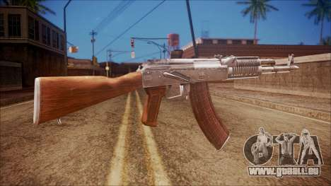 AK-47 v5 from Battlefield Hardline für GTA San Andreas zweiten Screenshot
