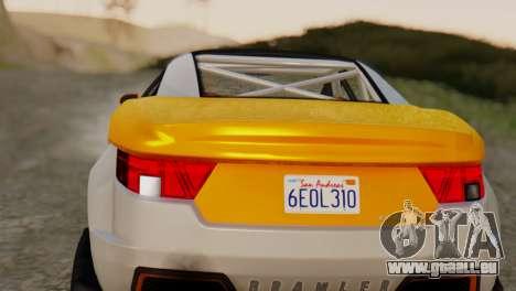 Coil Brawler Gotten Gains für GTA San Andreas rechten Ansicht