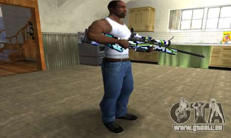 Marcken Sniper Rifle pour GTA San Andreas troisième écran