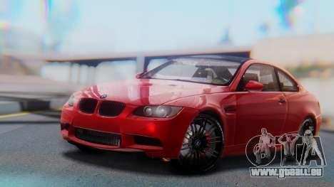 BMW M3 E92 2008 für GTA San Andreas