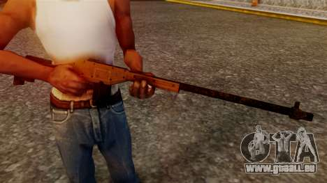 A Police Marksman Rifle pour GTA San Andreas troisième écran