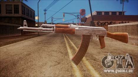 AK-47 v7 from Battlefield Hardline für GTA San Andreas
