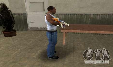 M4 Fish Power pour GTA San Andreas troisième écran