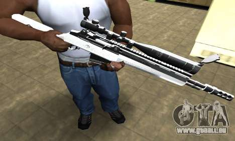 Bitten Sniper Rifle pour GTA San Andreas