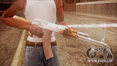 AK-47 v7 from Battlefield Hardline für GTA San Andreas dritten Screenshot