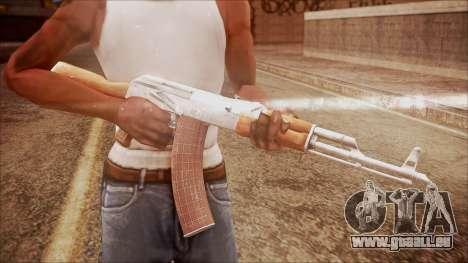 AK-47 v7 from Battlefield Hardline pour GTA San Andreas troisième écran
