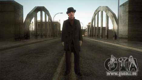 Sherlock Holmes v3 pour GTA San Andreas deuxième écran