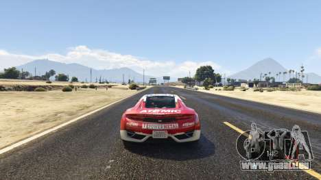 GTA 5 NFS gauge - RPM Gear Speedometer 1.0.1 dritten Screenshot