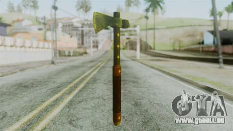 Tomahawk from Silent Hill Downpour für GTA San Andreas