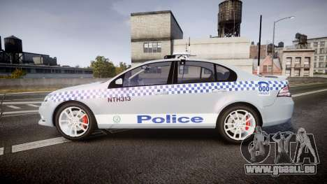 Ford Falcon FG XR6 Turbo Police [ELS] für GTA 4 linke Ansicht