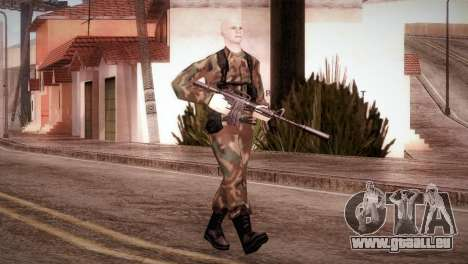 Shaved Soldier pour GTA San Andreas