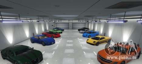 Single Player Garage für GTA 5