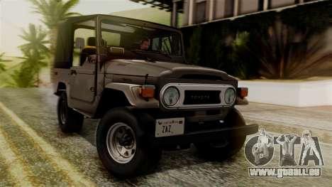Toyota Land Cruiser J40 1980 für GTA San Andreas