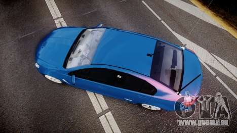 Holden VF Commodore SS Unmarked Police [ELS] pour GTA 4 est un droit