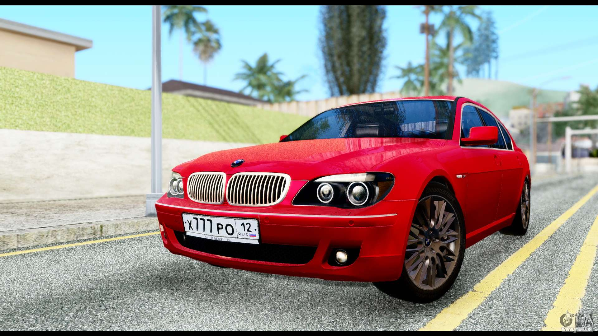 BMW 760Li E66 Fur GTA San Andreas