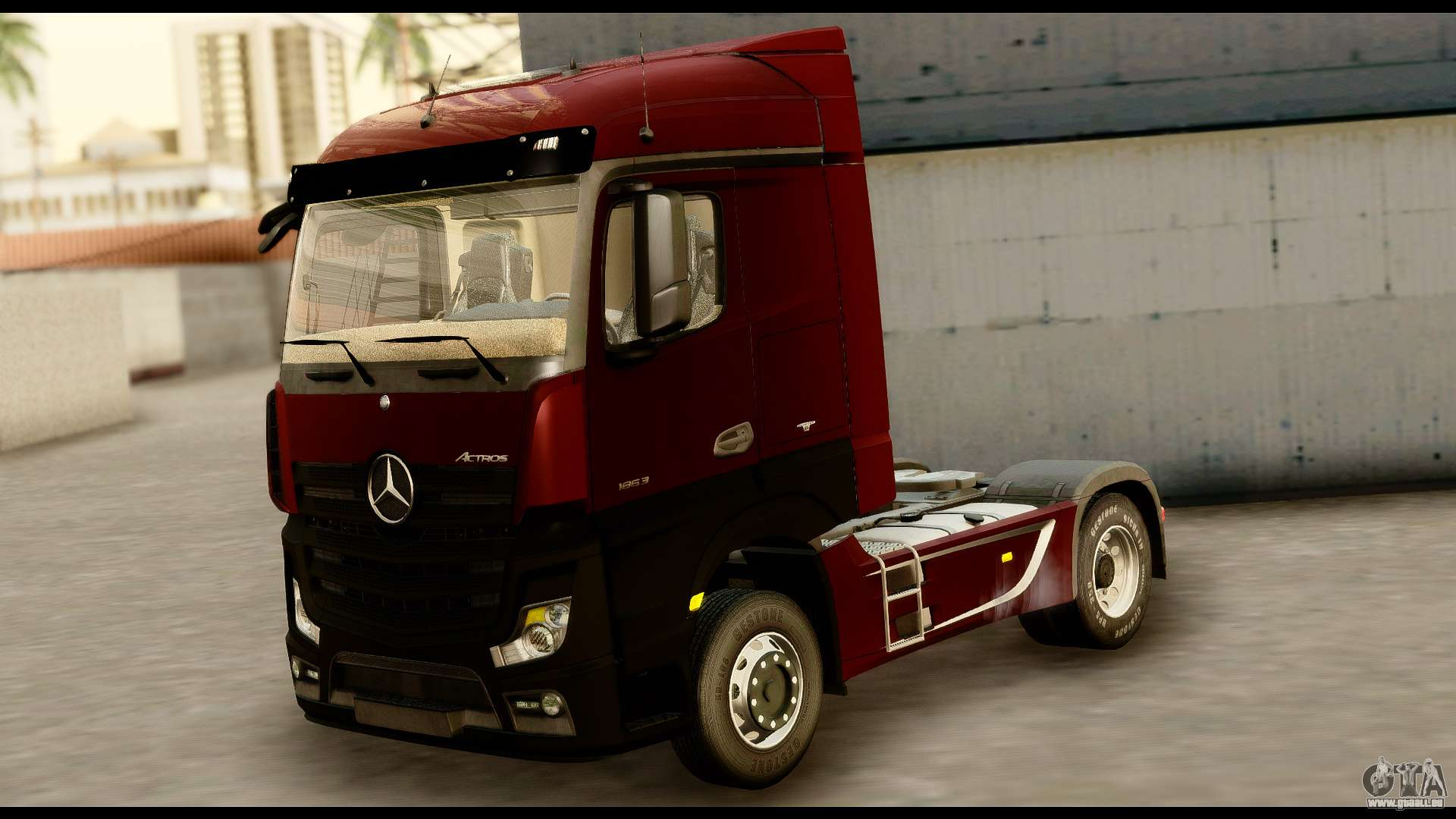 mercedes benz actros mp4 4x2 standart interior pour gta. Black Bedroom Furniture Sets. Home Design Ideas
