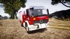 Mercedes-Benz Atego 1530 Firetruck [ELS]