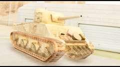 M4 Sherman 75mm Gun Desert