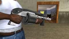 Silver Granate Combat Shotgun