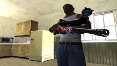 Red Shark Sniper Rifle
