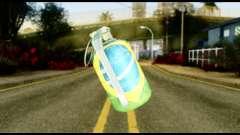 Brasileiro Grenade pour GTA San Andreas
