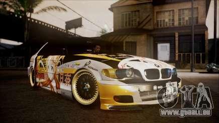 BMW 325t E46 LCI SAO Itasha für GTA San Andreas