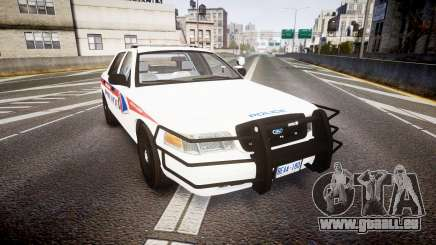 Ford Crown Victoria Bohan Police [ELS] WL pour GTA 4