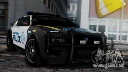 Hunter Citizen Police SF IVF pour GTA San Andreas