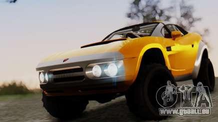 Coil Brawler Gotten Gains pour GTA San Andreas