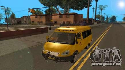 GAZ 2705 TMK rapide et le furieux pour GTA San Andreas