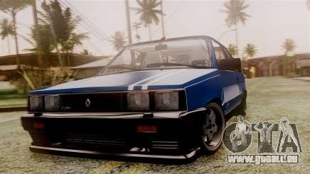 Renault 11 Turbo für GTA San Andreas