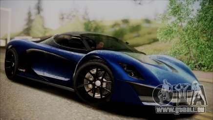 GTA 5 Grotti Turismo R SA Style pour GTA San Andreas