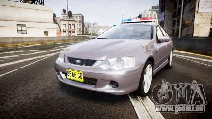 Ford Falcon XR8 Unmarked Police [ELS] pour GTA 4