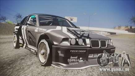 BMW M3 E36 GT-Shop pour GTA San Andreas