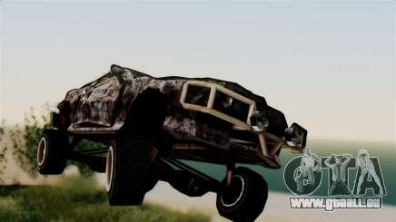 Post-apocalyptic Buffalo für GTA San Andreas