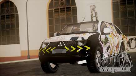 Mitsubishi Strada Triton Itasha für GTA San Andreas