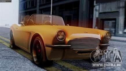 GTA 5 Invetero Coquette BlackFin für GTA San Andreas